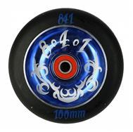 Kolesa 841 110mm - modra - z ležaji