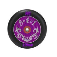 Kolesa 841 110mm - vijolični - z ležaji
