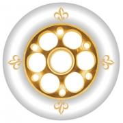 Kolesa YAK Fleur 100mm - zlata