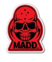 Nalepka Madd - rdeča