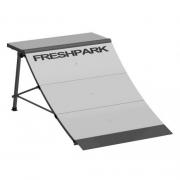 Skate park FRESHPARK Quarter Pipe - prenosljiv